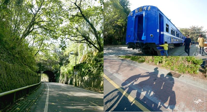 東豐自行車綠廊》台中東勢景點,全長12公里自行車專用道,與大甲溪相鄰,全台最美的舊鐵路支線與青山綠水相伴,享受漫遊親子時光。 @章魚娜娜 ∞ 玩味生活