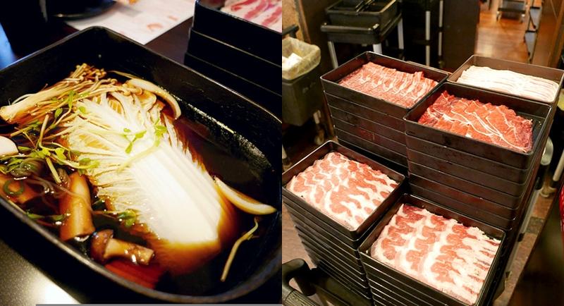 鋤燒鍋物料理》日式壽喜燒吃到飽,台中公園附近美食,30種以上食材、6種鮮切肉品,牛肉prime及choic等級。 @章魚娜娜 ∞ 玩味生活