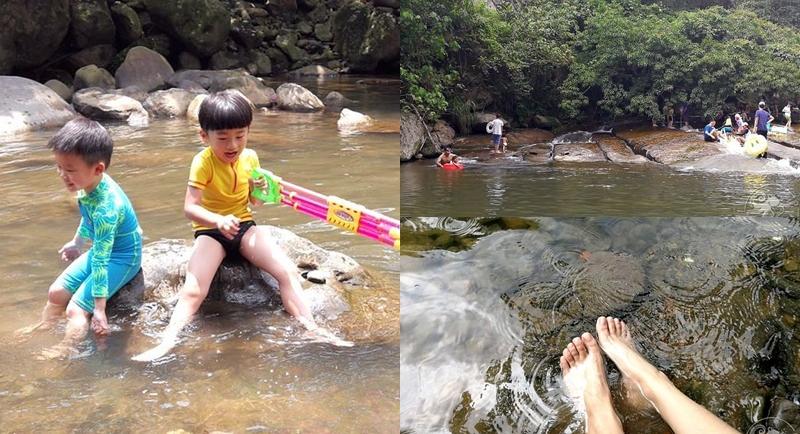 內雙溪 玩水野餐》夏日戲水趣沁涼溪水;瞬間消暑,撈魚、抓蝦、抓螃蟹,自然生態好好玩!台北免費景點 @章魚娜娜 ∞ 玩味生活